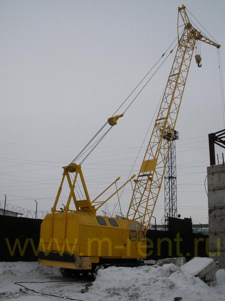 аренда гусеничного крана РДК 250 25 тонн