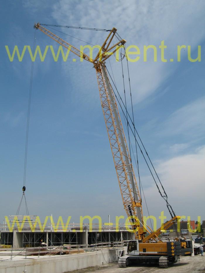 аренда гусеничного крана 300 тонн