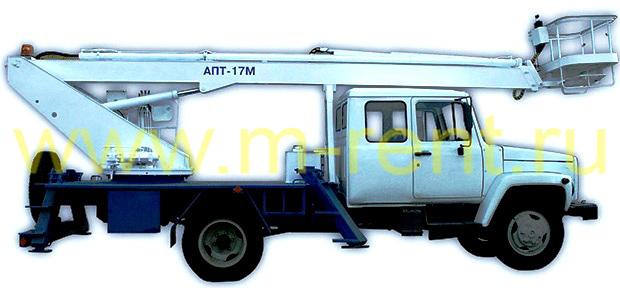автовышка 17 метров АПТ-17 (ПСС 131.17Э)