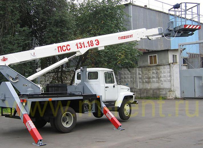 аренда автовышки ПСС-131.18