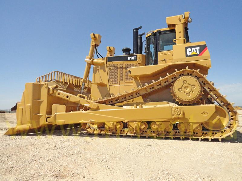 аренда бульдозера Caterpillar d10 от 40 тонн