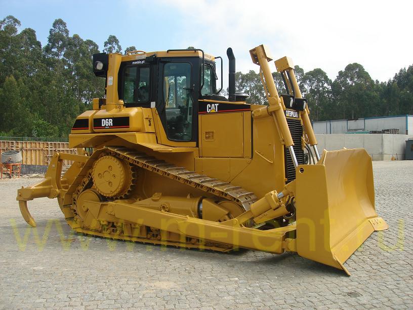 аренда бульдозера Caterpillar D6 18-19 тонн