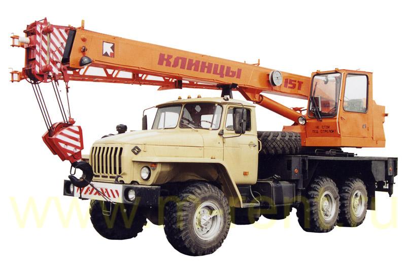 аренда автокрана 15 тонн Клинцы КС-35719-3