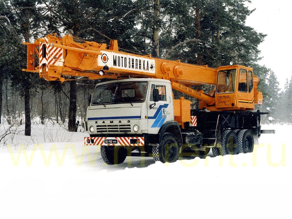 аренда автокрана 25 тонн Мотовилиха КС-5579-2