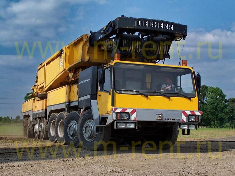 Аренда автокрана 800 тонн Liebherr LTM 1800