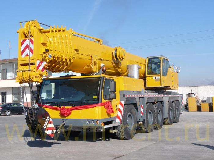аренда автокрана 200 тонн в Москве