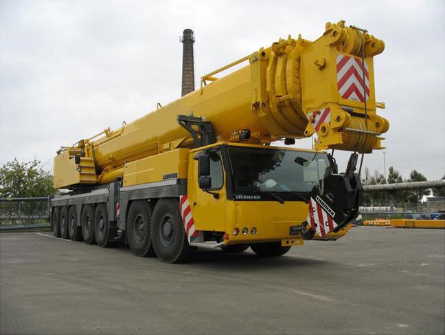 аренда автокрана 400 тонн Liebherr LTM 1400